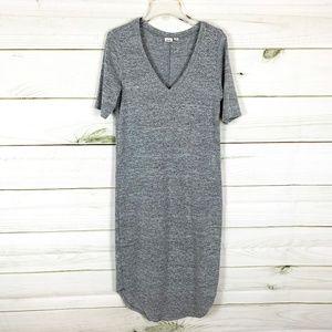 Gap Soft spun V neck Midi Dress